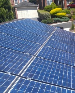 Solar power system installed in Donvale