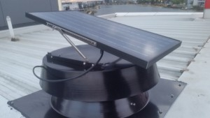 Solazone sv3500 solar roof ventilator