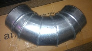 Sub-floor duct fittings are available