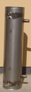 Stove flue heat exchanger