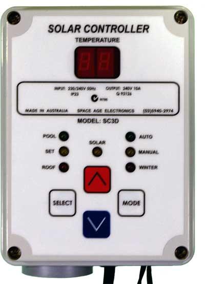 solar controller sc3d