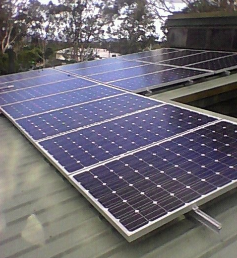 Domestic 5kw solazone solar power system at Toowoomba