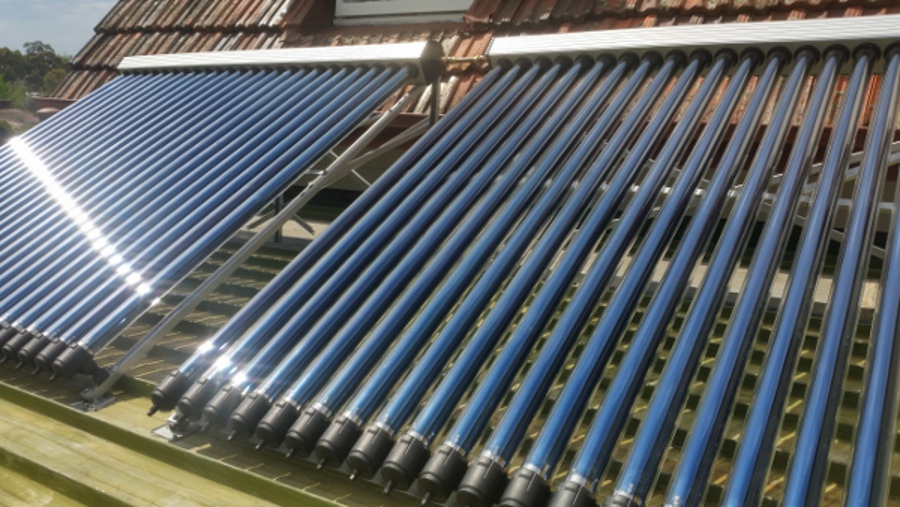 Solar Lord Evacuated Tube Water Heating Solazone Australia