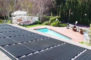 Ecosun solar pool heating panels