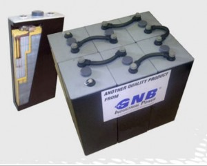 Energystore-gel battery