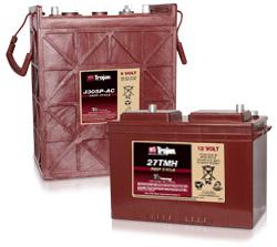 Trojan Flooded Batteries