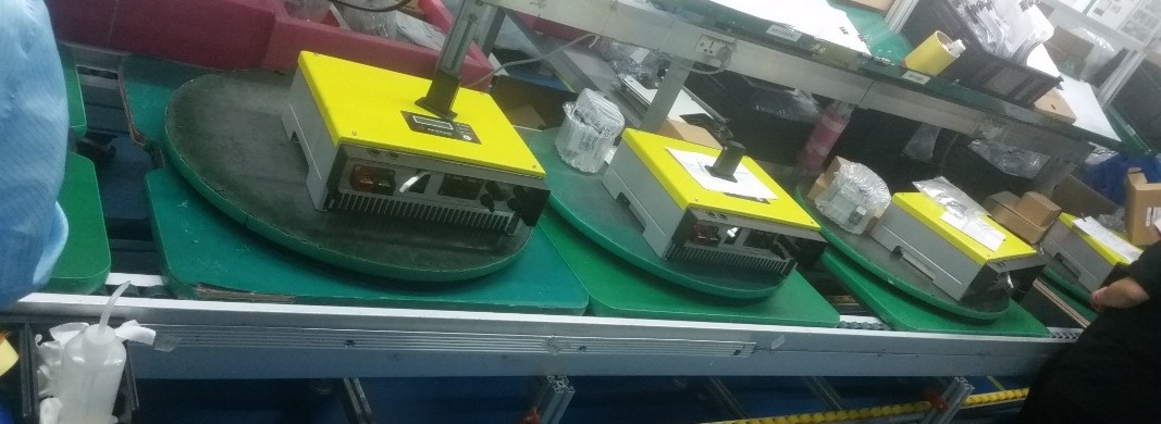 GoodweBP devices being made at the factory