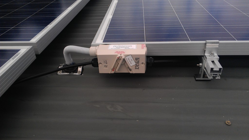 AC solar panels serviced here