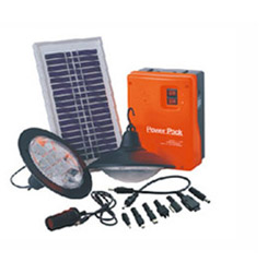 Solarland 4LED light kit with solar panel & phone charger