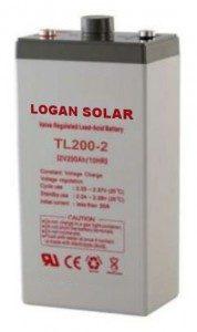TL200-2 volt battery