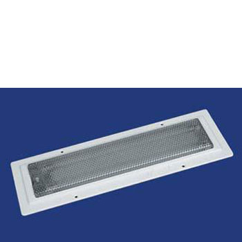 labcraft 16w recessed fluorescent light with switch