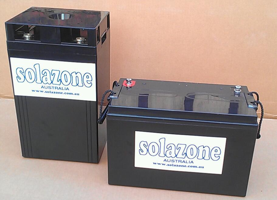 Solazxone silicate batteries