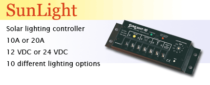 Morningstar Sunlight lighting controller