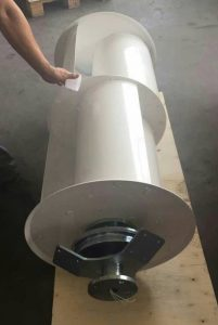 Q4 wind turbine for horizontal use