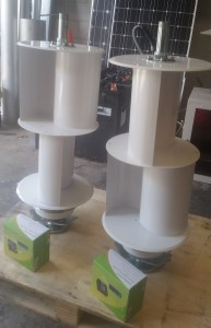 Q4 vertical axis wind generators ready for dispatch