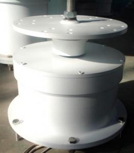 Vertical turbine generator