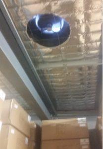industrial solar ventilator