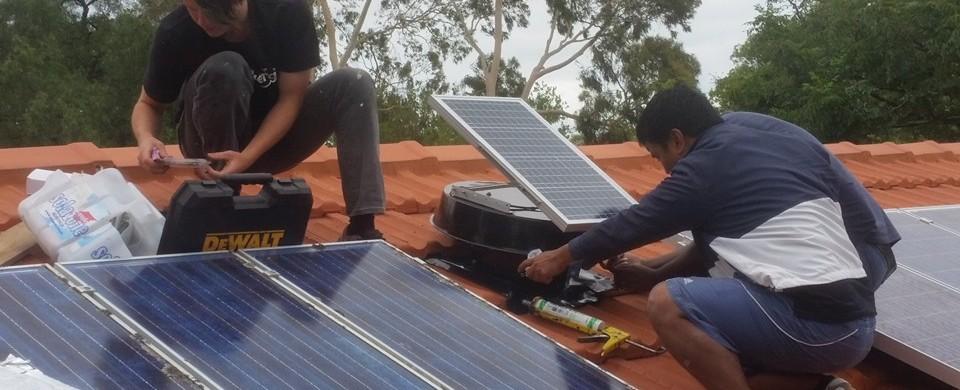 2016 solar ventilator