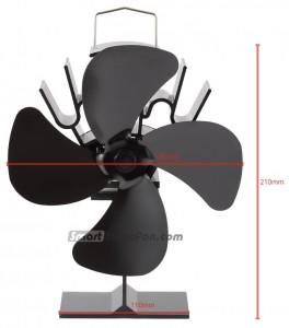 stove fan australia dimensions