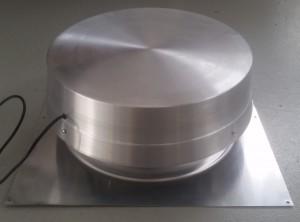 New aluminium solar roof ventilator