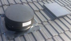 SV3200A on tile roof