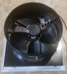 Back of 300mm ventilator fan