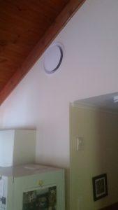 Solar wall ventilation